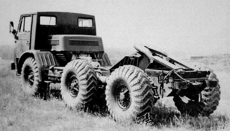 组图:铁幕后的科幻作品 苏联时期全地形车