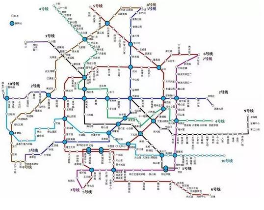 11条线 天津地铁线路规划都在这了图片