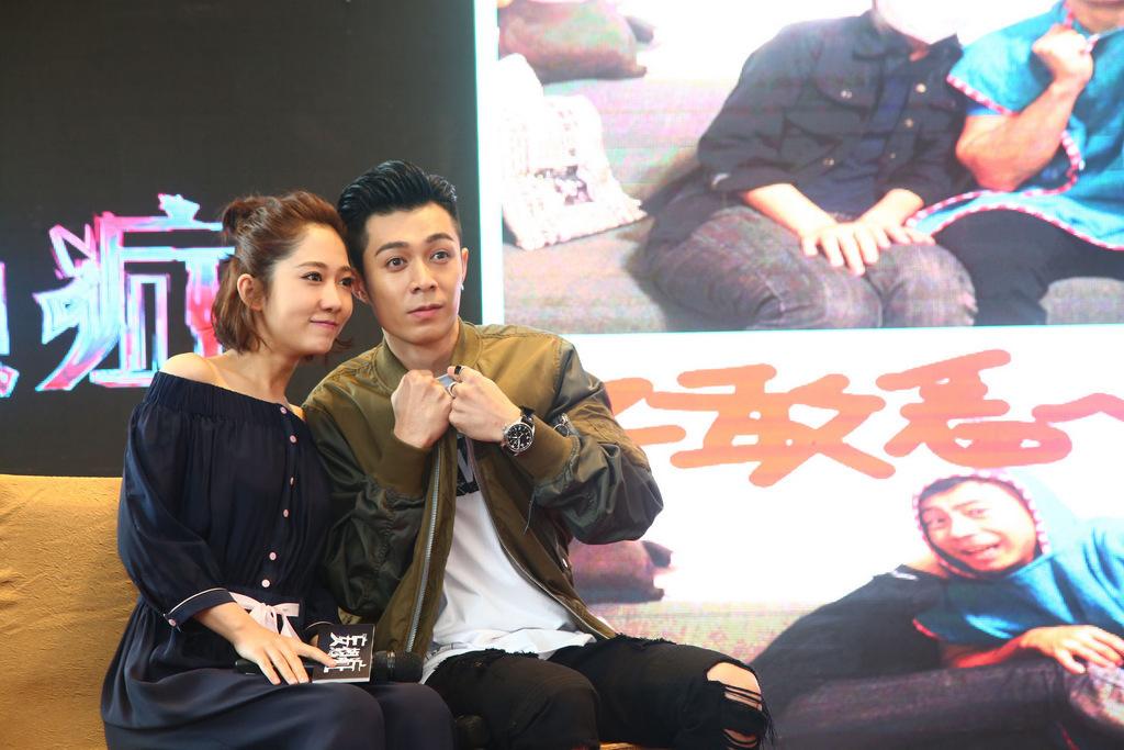 《妄想症》广州首映 周柏豪自曝险患抑郁症