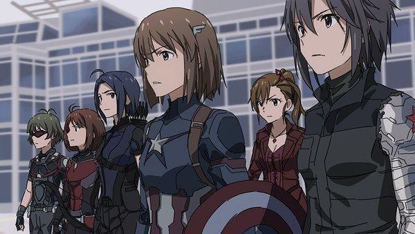 日本推偶像大师版《美国队长3》