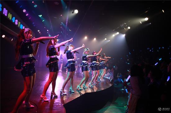 SNH48量身定制原创首秀 见证少女成长与蜕变