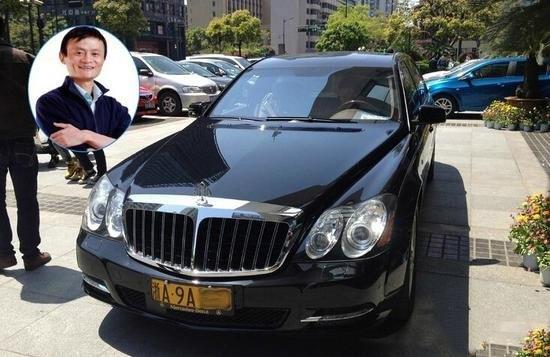 """友一辆被誉为""""世界第一豪车""""的迈巴赫62S,市场售价约为1070万"""