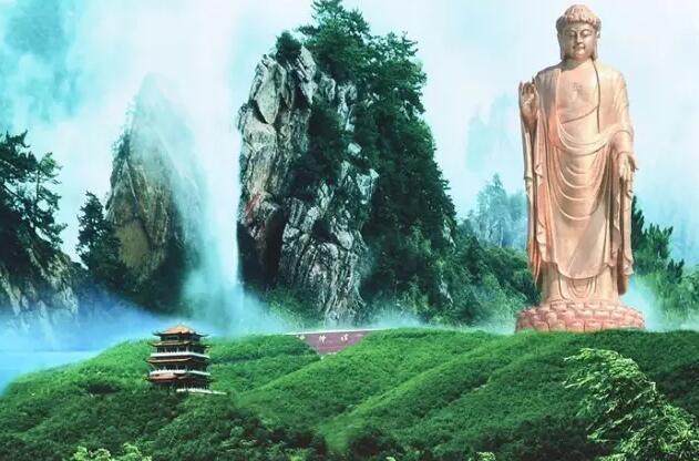 平顶山——尧山.平顶山境内的尧山风景区是著名的温泉养生度假胜