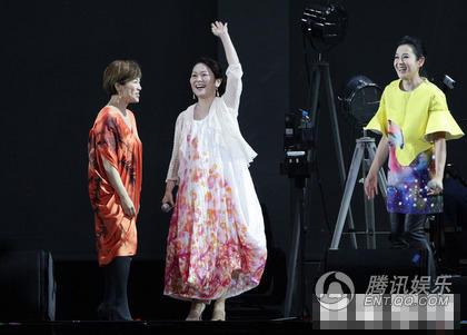 刘若英台北演唱会下跪唱安可 超时挨罚15万