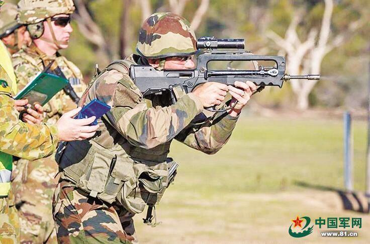 由中部战区陆军第27集团军组队的中国人民解放军陆军射击代表队,