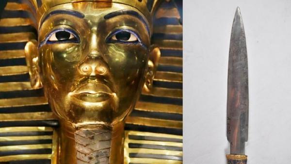近日,一则埃及法老王陪葬匕首由陨石打造的新闻火遍了网络,让这个图片