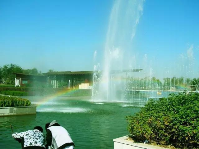 保定生态园作为新建的绿色生态公园,无论是从面积还是景色来说都