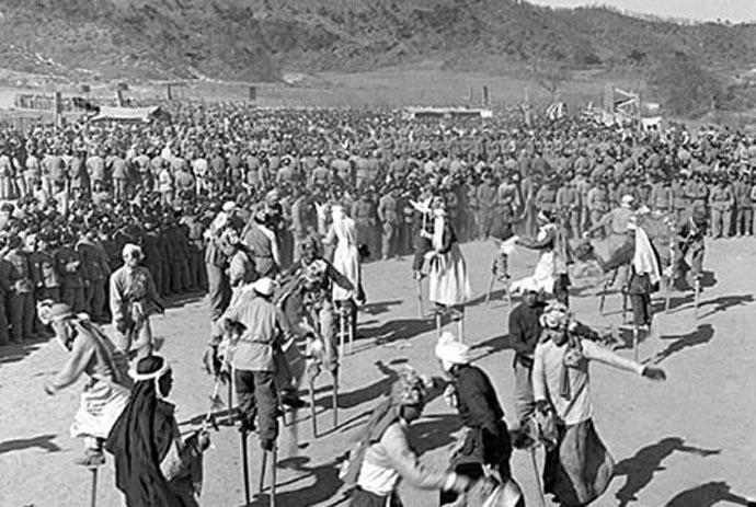 老照片:1960年以前的春节怎么过? - 海阔山遥 - .