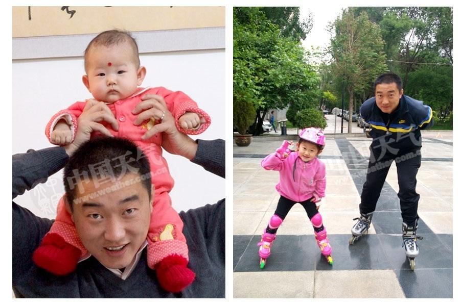我喜欢爸爸. (赵海梅供图)-爸爸和我,时间都去哪儿了