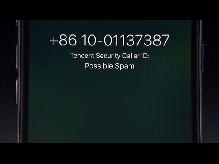 还可以提醒垃圾来电了.-iOS 10会给你的iPhone带来哪些变化