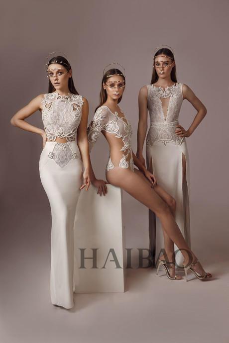 蕾丝设计,以及2017婚纱流行趋势中最in的披肩以及高领设?-不出国