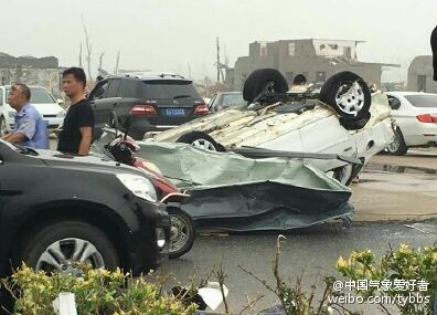 江苏阜宁等地突遭12级大风冰雹袭击 有村民被埋 - 海阔山遥 - .