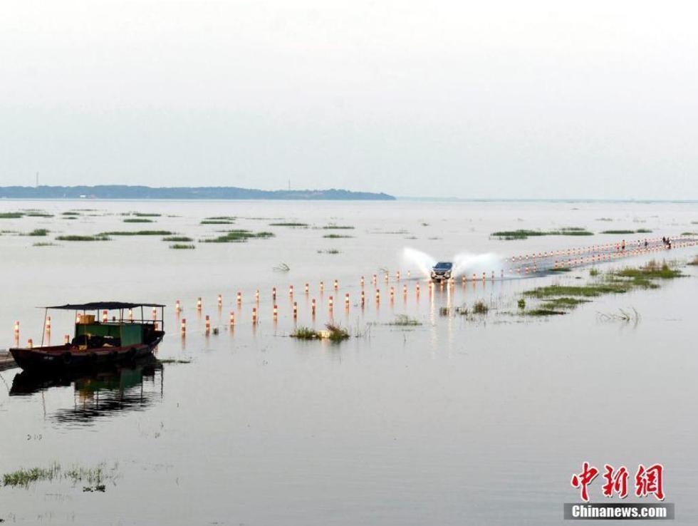 """江西""""最美水上公路""""美景再现 吸引游客 - 海阔山遥 - ."""