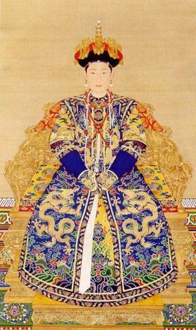 最全清朝皇后画像