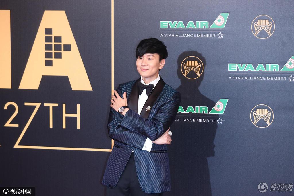 第27届台湾金曲奖:林俊杰帅气亮相图片