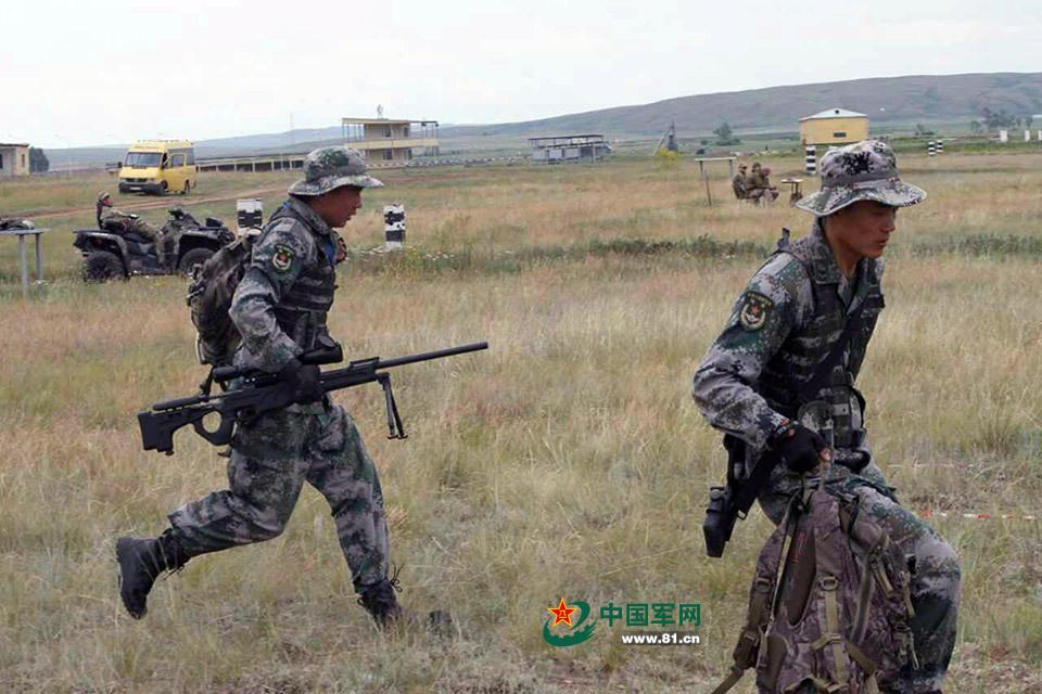 代表中国特种部队参赛的陆军第26集团军某特战旅是我军13支特种部图片