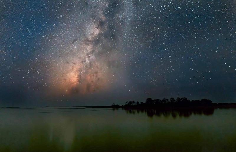 太梦幻!宇航员拍摄星际景观大片 - 海阔山遥 - .