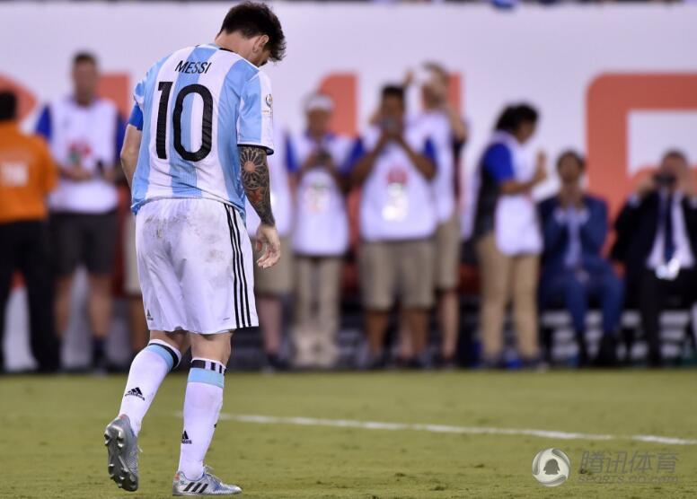 智利4-2胜阿根廷 梅西宣布退出国家队