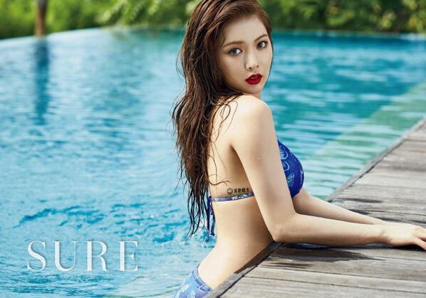 最近在韩流界中,泫雅可能是当之无愧的性感女神.-韩国90后女星谁