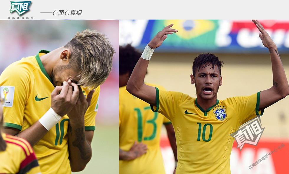 【内马尔:巴西队】在2014年的联合会杯和世界杯上,内马尔绝对核心图片
