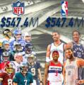 NBA七大肥约竟超NFL 科比天价合同今仅列第四