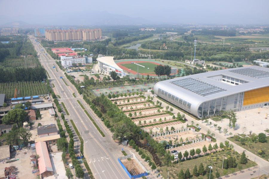当下,北京的地铁建设正迅猛完善中,新的财富机遇正驶向平谷.新规图片