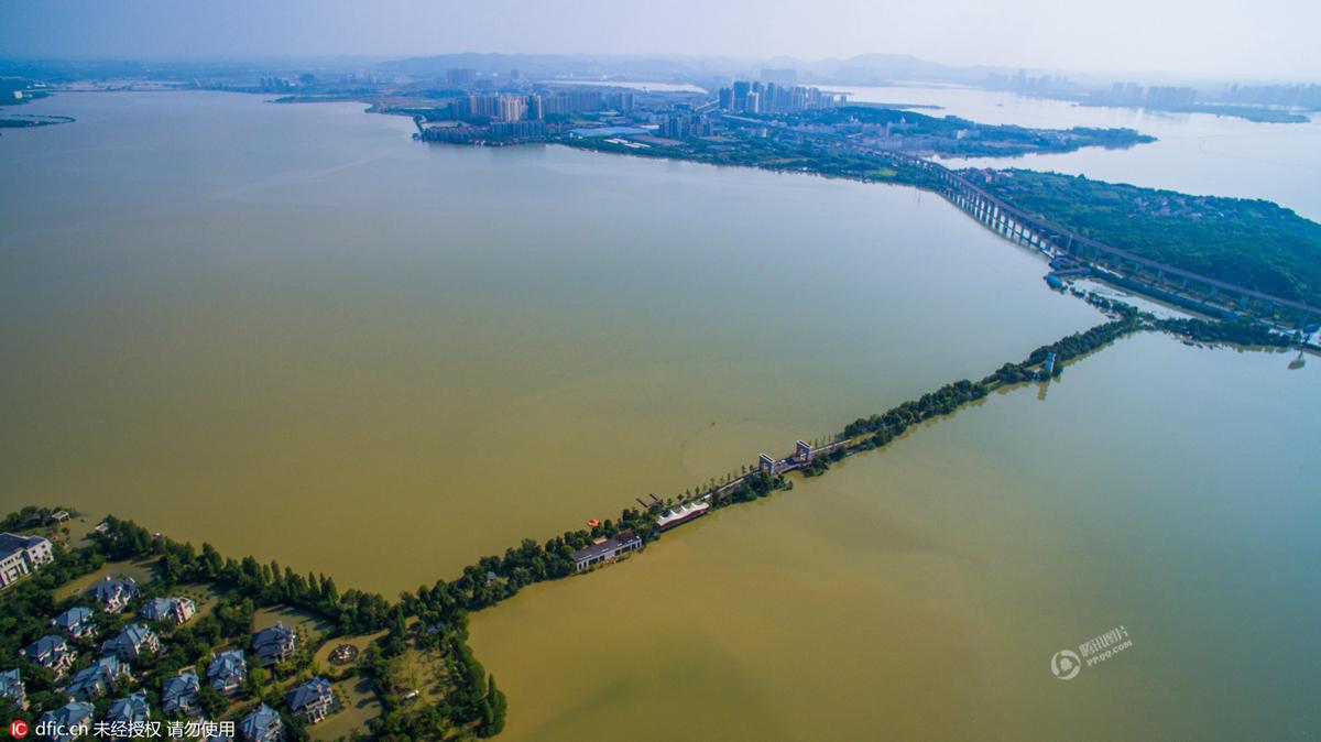 武汉最奢华别墅区被洪水围困成孤岛 - 海阔山遥 - .