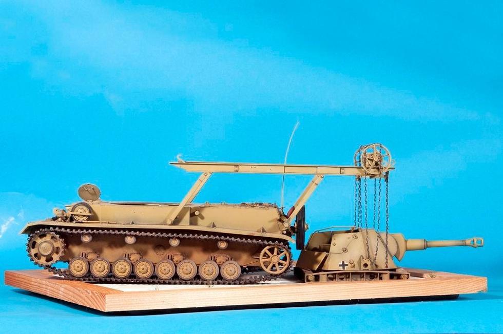 德国二战自行榴弹炮仅存1辆,却被美国扔在户外