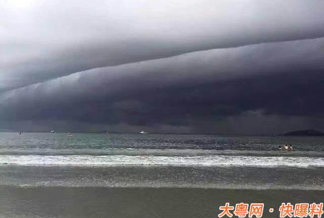 """""""妮妲""""来袭,广东省已于今天(8月1日)17时将气象灾害(台风)"""