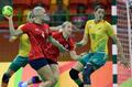 高清:首日手球两场小组赛 法国巴西双双取胜