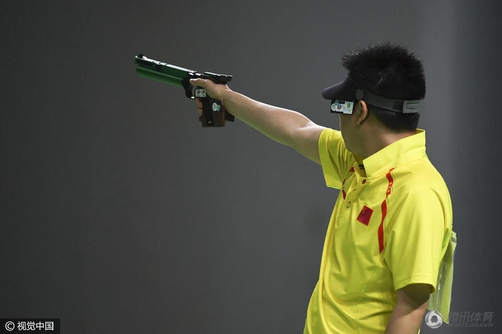 高清:男子10米气手枪决赛 庞伟力拼获铜牌 - 海阔山遥 - .