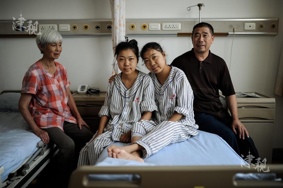 患尿毒症姐妹后续:一家四口人均愿捐献遗体图片