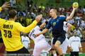 高清:男子手球小组赛B组 德国32-29小胜瑞典