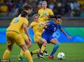 高清:女足巴西7-6澳大利亚 东道主强势进4强