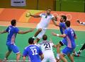 高清:奥运男子手球小组赛 克罗地亚vs法国