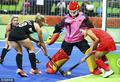 高清:曲棍球女子小组WA 中国0-3不敌新西兰