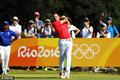 高清:高尔夫男子个人比杆赛 选手挥杆争金