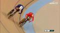 组图:自行车女子竞速赛1/4决赛 钟天使出战