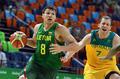高清:米尔斯24分 澳大利亚胜立陶宛晋级4强