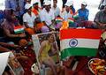 组图:为冠军放大招 印度法师为奥运选手做法