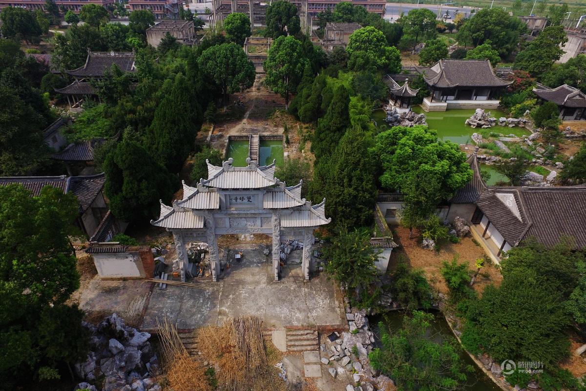 """号称中国最大""""私家园林""""动土13年 如今成烂尾 - 海阔山遥 - ."""