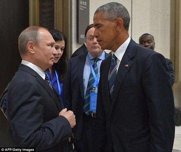【图片新闻】奥巴马G20见普京 用眼神杀死你 - 耄耋顽童 - 耄耋顽童博客 欢迎光临指导