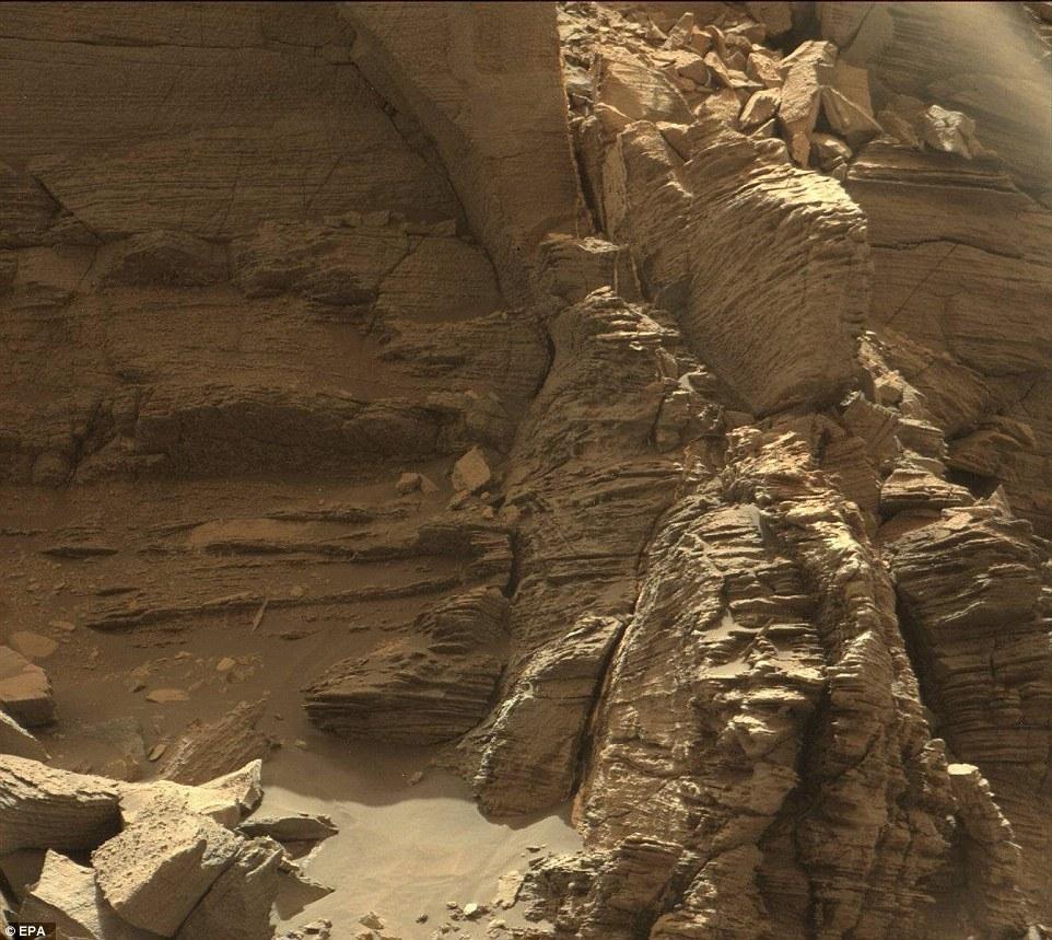 NASA发布火星新影像 与地球景色如出一辙 - 海阔山遥 - .