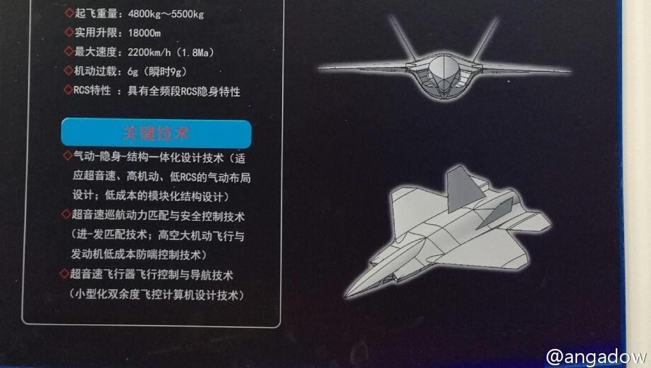 组图:中国新型隐身无人战机曝光 酷似F-35 - 海阔山遥 - .