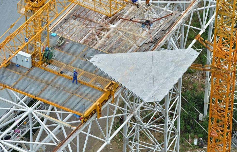 中国建成最大(牛)单体射电望远镜 - 李平兴 - 神明五极推手中心