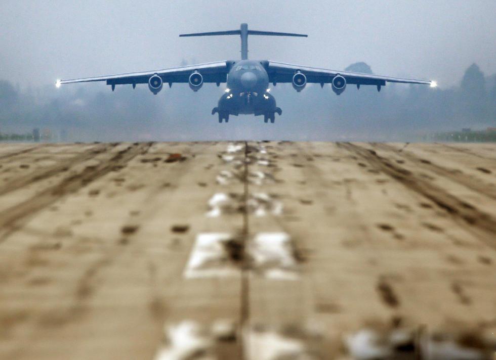 组图:中国空军发布运20美图 - 海阔山遥 - .