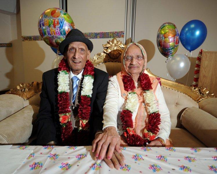 世界最长寿夫妇维持90年婚姻 110岁丈夫近日去世