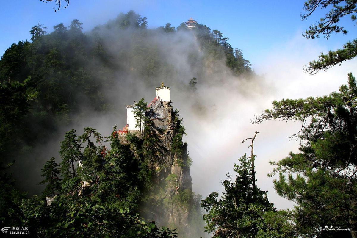 陕西最险道观 孤悬绝壁之上2016.10.10 - fpdlgswmx - fpdlgswmx的博客