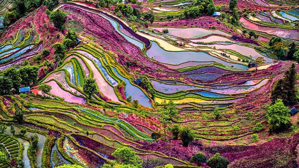 """秋天:大自然亲手绘制的""""色彩天堂"""" - 海阔山遥 - ."""