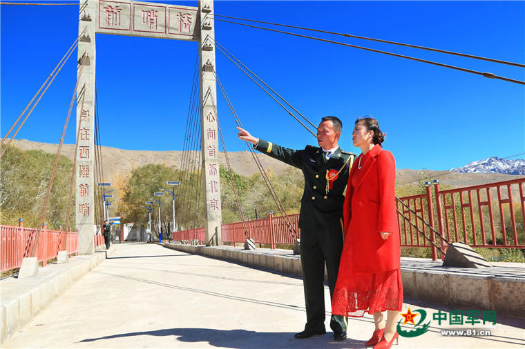 戍边军人在国门界碑前的婚礼2016.10.13 - fpdlgswmx - fpdlgswmx的博客